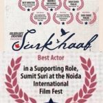 Sumit Suri's award for actor in supporting role for Surkhab