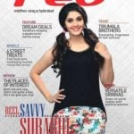 Surbhi Puranik appeared on cover of Red magazine