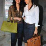 Tanya Deol with Twinkle Khanna