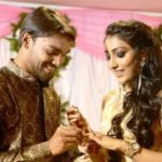 Sandeep Sharma and Tasha Sathwick engagement photo