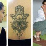 Tejaswini Pandit Tattoos