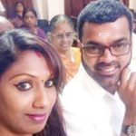 Thadi Balaji With His Ex-wife Nithya