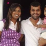 Thadi Balaji With His Ex-wife Nithya And Daughter Poshika