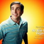 The 40 years old virgin movie poster
