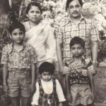 Tyagraj Khadilkar with his parents and siblings- Childhood Picture