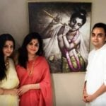 Vedhika Kumar with her family