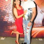 Vicky Jain With His Tia Bajpai
