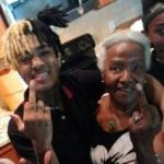 XXXTentacion with his grandmother