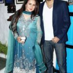 Poonam Dhillon With Her Son Anmol