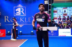Aadesh Chaudhary in Box Cricket League (BCL)