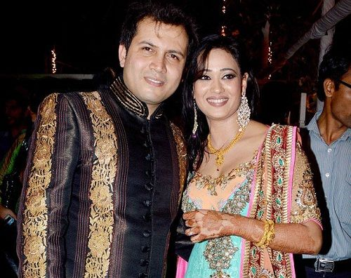 Abhinav Kohli with his wife Shweta Tiwari