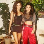 Aisha Sharma with her sister Neha Sharma