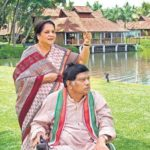 Ajit Jogi with his wife