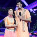 Amrapali Gupta with Yash Sinha in Nach Baliye Season 6
