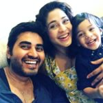 Amrapali Gupta with her husband Yash Sinha and son Kabir Sinha