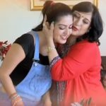 Amrita Prakash With Her Mother