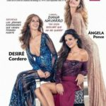 Angela Ponce appeared on cover of Sevilla magazine