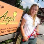Angelique Kerber at her grandfather's academy