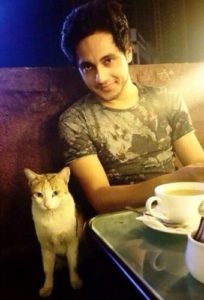 Anshul Pandey loves animals