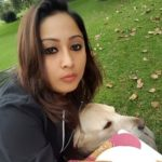 Archana Suseelan loves dogs