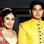 Archana Suseelan with her husband Manoj Yadav