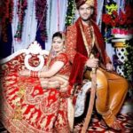 Arun Singh Rana and Shivani marriage photo
