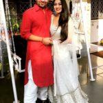 Ashlesha Sawant with Sandeep Baswana