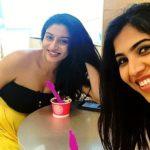 Ashlesha Sawant with her sister Suyesha Savant