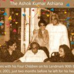 Ashok Kumar with his Four Children