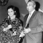 Ashok Kumar with his winning Trophy