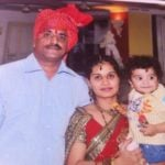 Atharva Phadnis with his parents