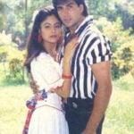 Ayesha Jhulka with Akshay Kumar