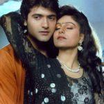 Ayesha Jhulka with Armaan Kohli