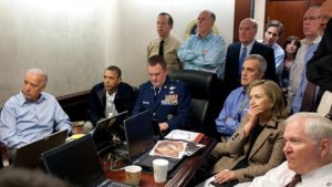 Barack Obama watched the Bin Laden's Killing operation Live