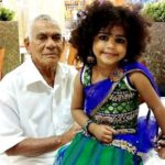 Basheer Bashi father Mohammed Kutty and daughter Sunaina Sunu