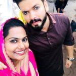 Basheer Bashi with his wife Suhana Bashi