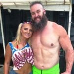 Braun Strowman with Kailey Dawn Farmer