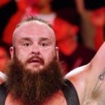 Braun Strowman's Country Strong Tattoo On Left Bicep