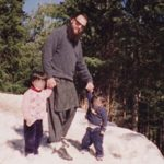 David Headley with his children