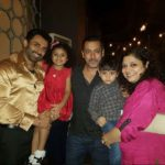 Dev Gill And His Family With Salman Khan