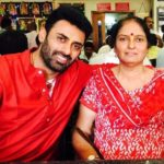 Dev Gill With His Mother