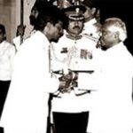 Dhanraj Pillay Recieving Padma Shri