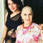 Divya Seth with her mother Sushma Seth