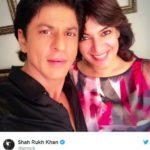 Divya Seth With Shah Rukh Khan