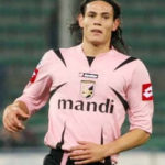 Edinson Cavani playing for Palermo
