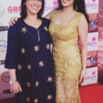 Garima Jain with her mother