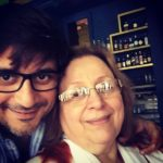 Goldie Behl With His Mother