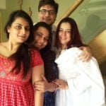 Goldie Behl With His Sisters