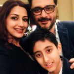 Goldie Behl With Sonali Bendre And Their Son