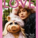Hailey Baldwin On LOVE Magazine Cover